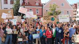 """Fridays for Future"": Klimastreik in Weilheim"