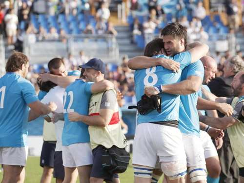 Uruguays Rugby-Amateuren gelingt WM-Sensation