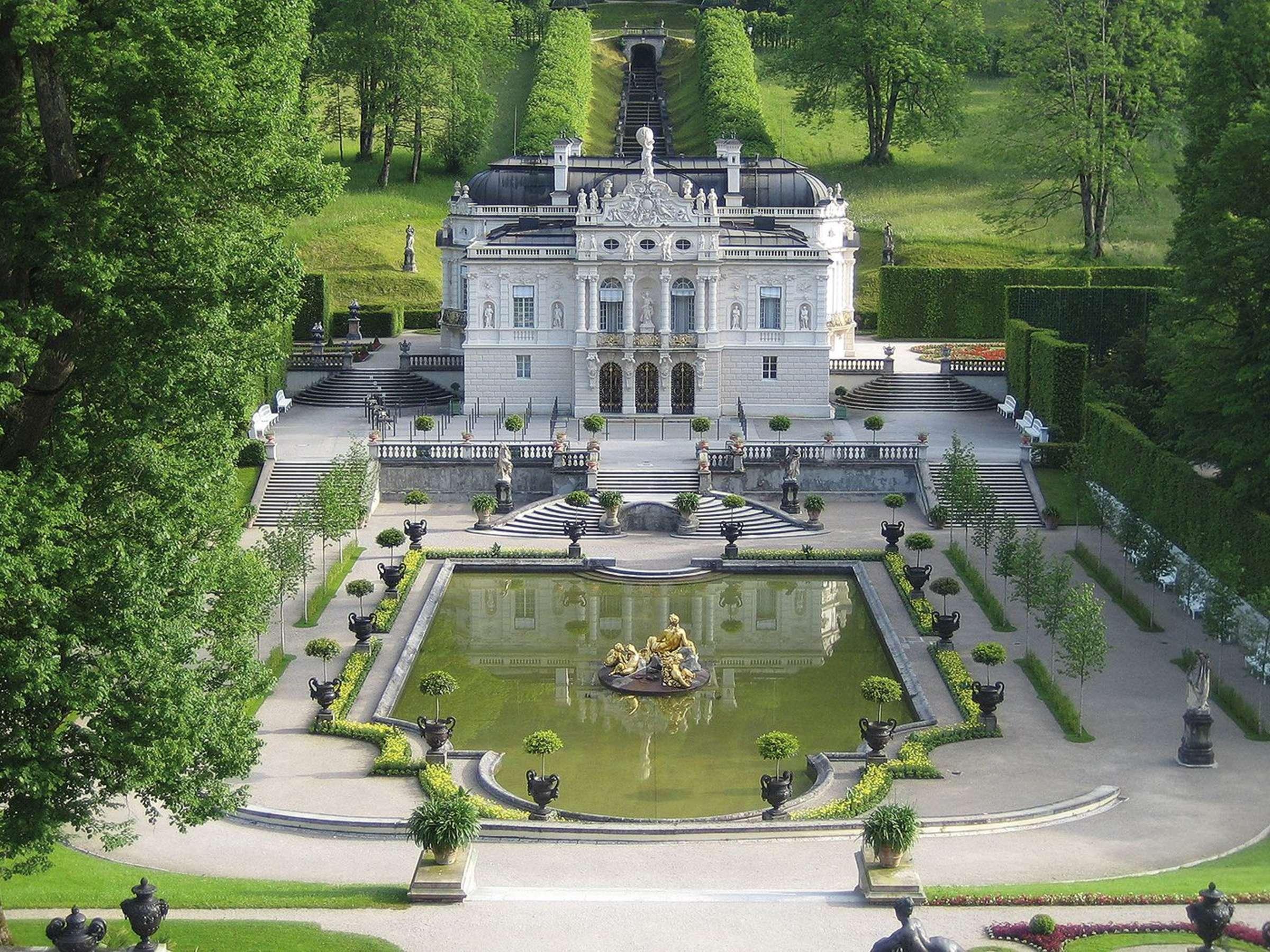 Schloss Linderhof Startet In Die Wintersaison Garmisch Partenkirchen