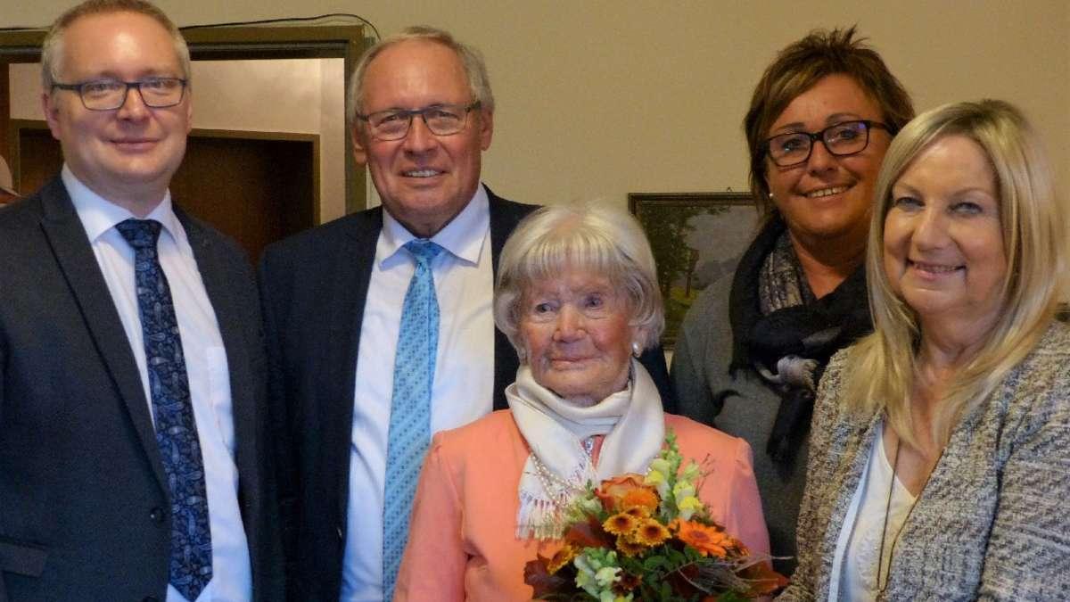 Margareta Treutler aus Oberstaufen feiert ihren 107. Geburtstag | Kempten - kreisbote.de