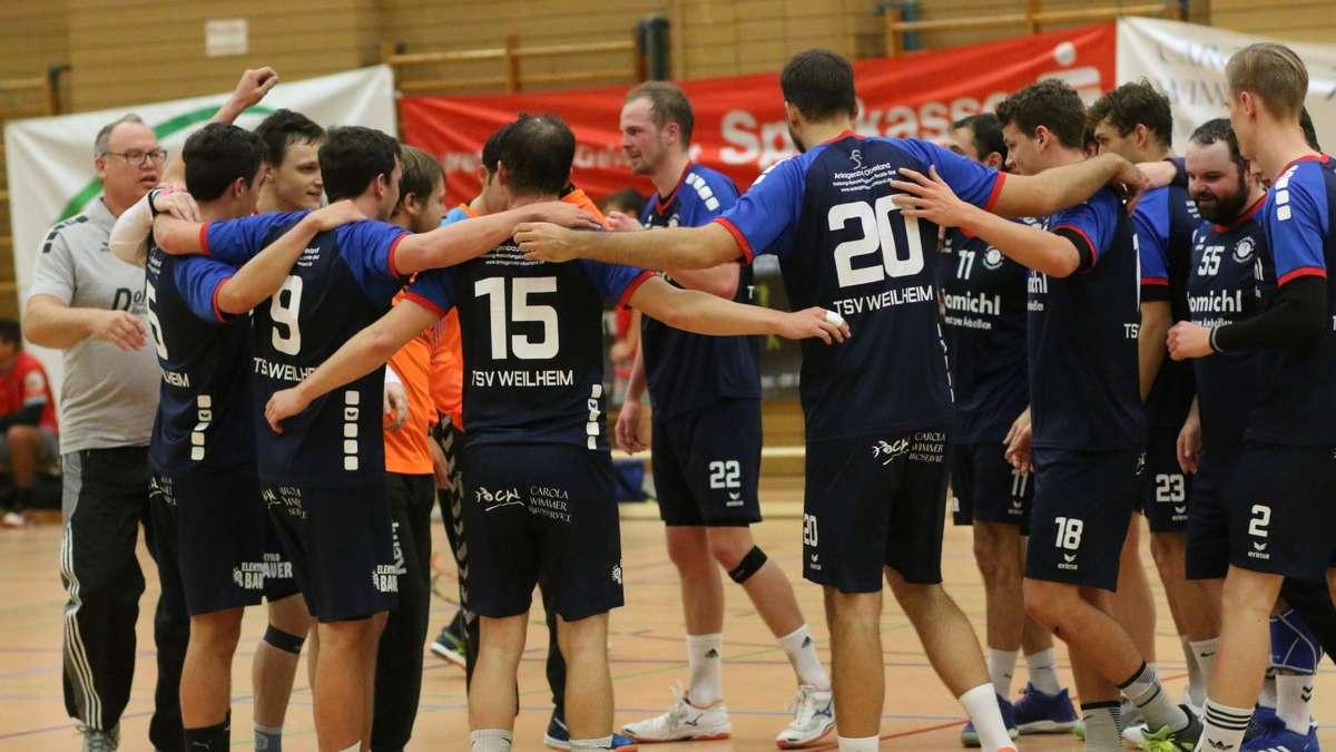 Handball: Klarer Heimsieg für Herren des TSV Weilheim   Weilheim-Schongau - kreisbote.de