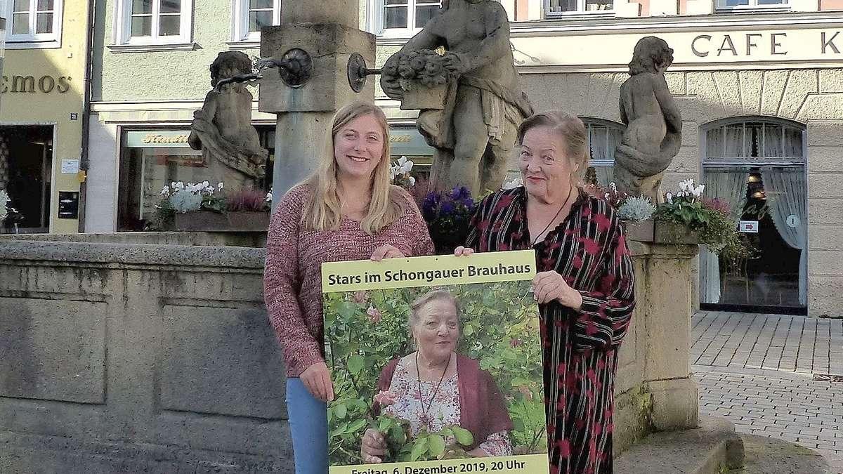 Die Seele schwingt mit: Lesung im Schongauer Brauhaus mit Marianne Sägebrecht   Schongau - kreisbote.de