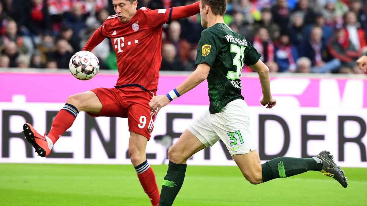 Fc Bayern München Gegen Vfl Wolfsburg