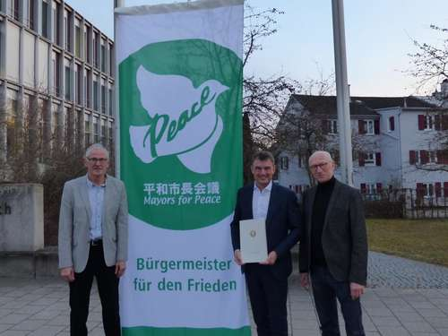 Landsberger OB gehört nun zu den »Mayors for Peace«