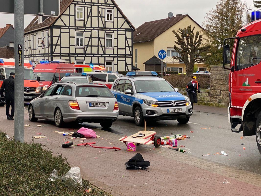 Volkmarsen Karneval Auto
