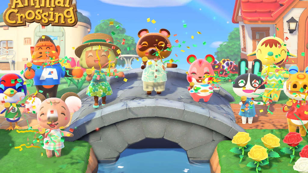 """Animal Crossing: New Horizons""."