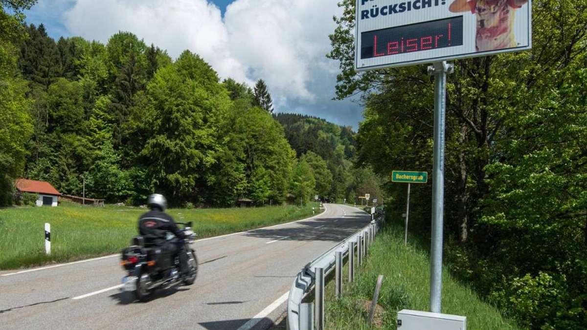 Motorrad Fahrverbot Bayern