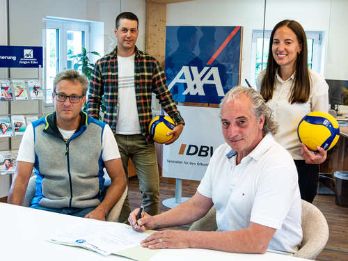 "Volleyballerinnen starten als ""AXA Eder Volleys Burgberg"" in die Bayernliga"