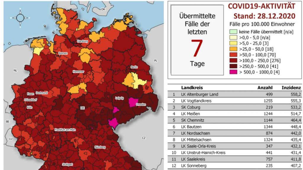 Corona Fälle In Deutschland Aktuell