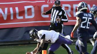 Baltimore Ravens schlagen Tennessee Titans in NFL-Playoffs
