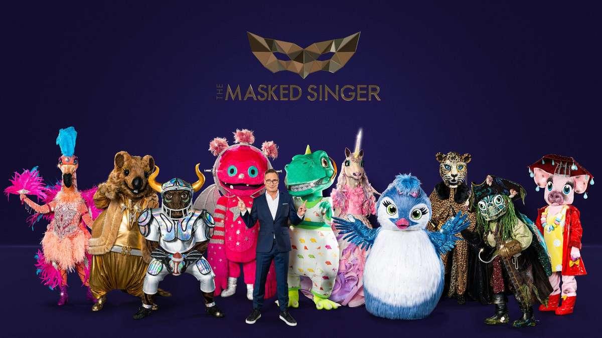 The Masked Singer 2021 : The Masked Singer: Badger ...