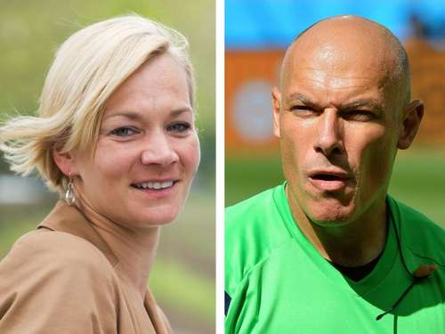 Bibiana Steinhaus heiratet Howard Webb